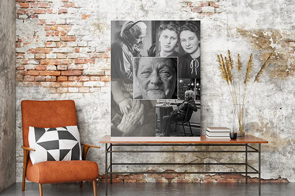 funeral tribute collage posters