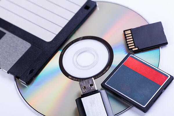 memory cards to cD & dVD