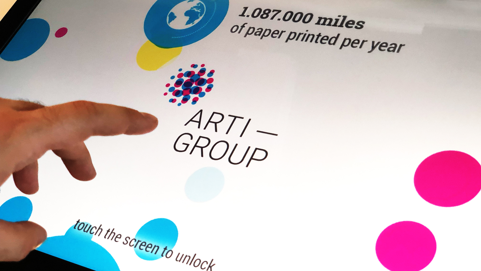 Arti Group Touch Table