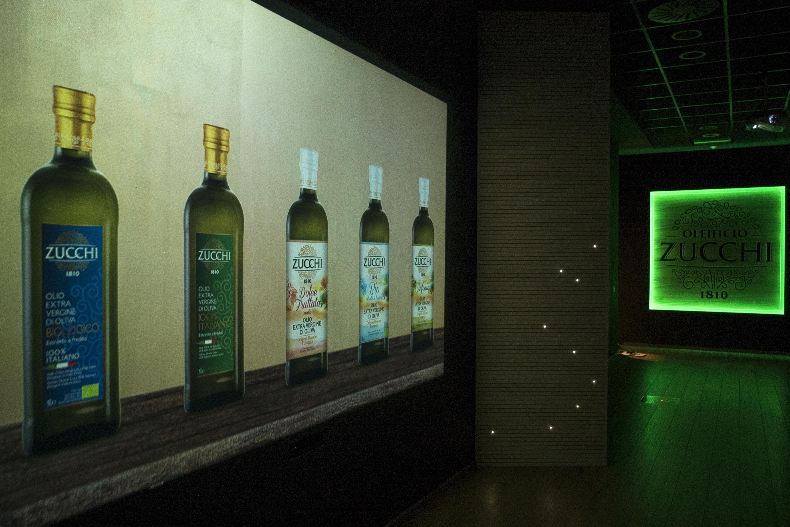 Corridoio Interattivo Oleificio Zucchi