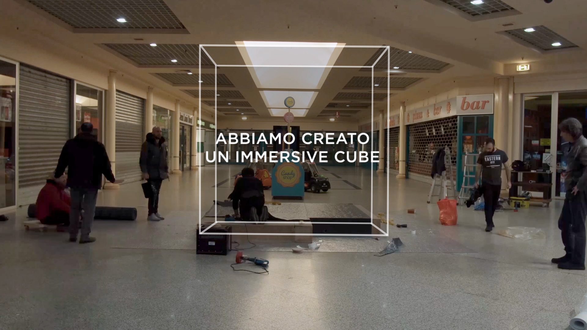 Sky Immersive Cube