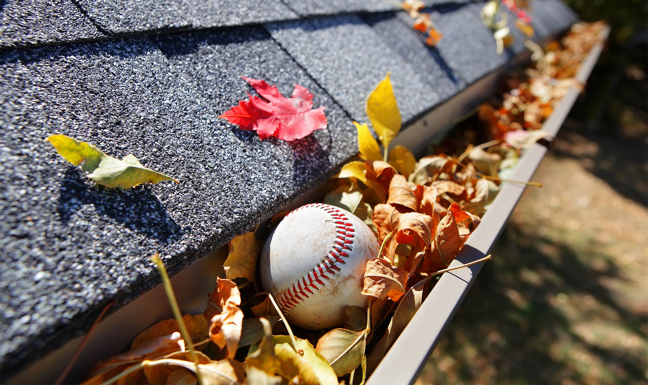 Image result for cleaning gutters in the summer