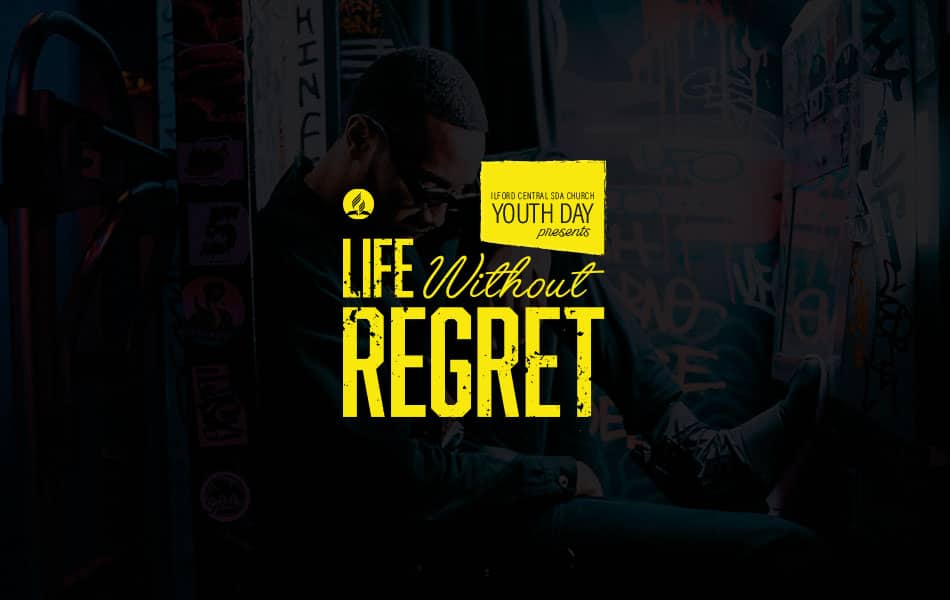 Life Without Regret is a youth event hosted by Ilford SDA church for an entire day consisting of great music, food, fellowship and an inspiring sermon by Jermaine Wong.