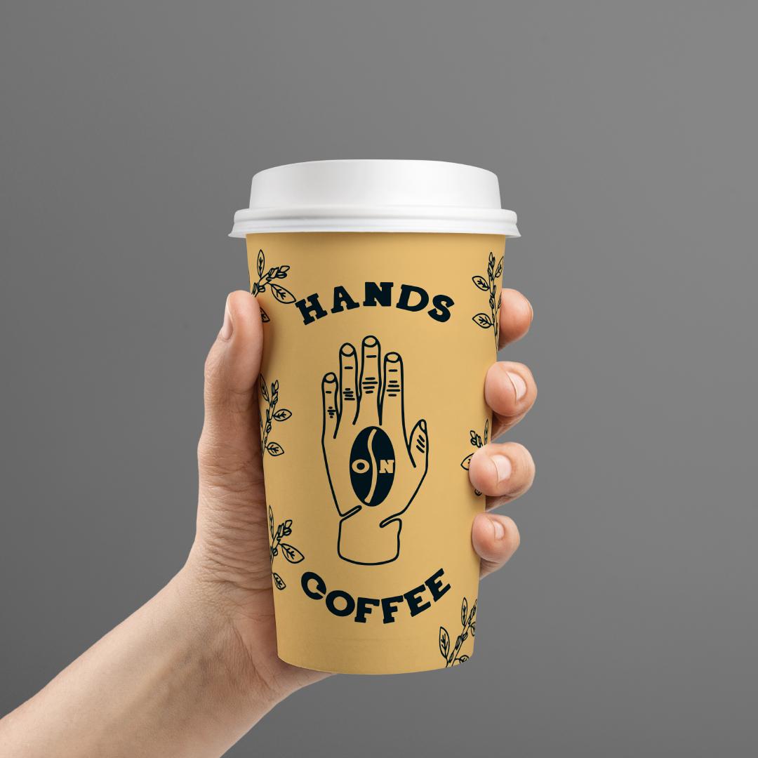 Logo Design coffee cup