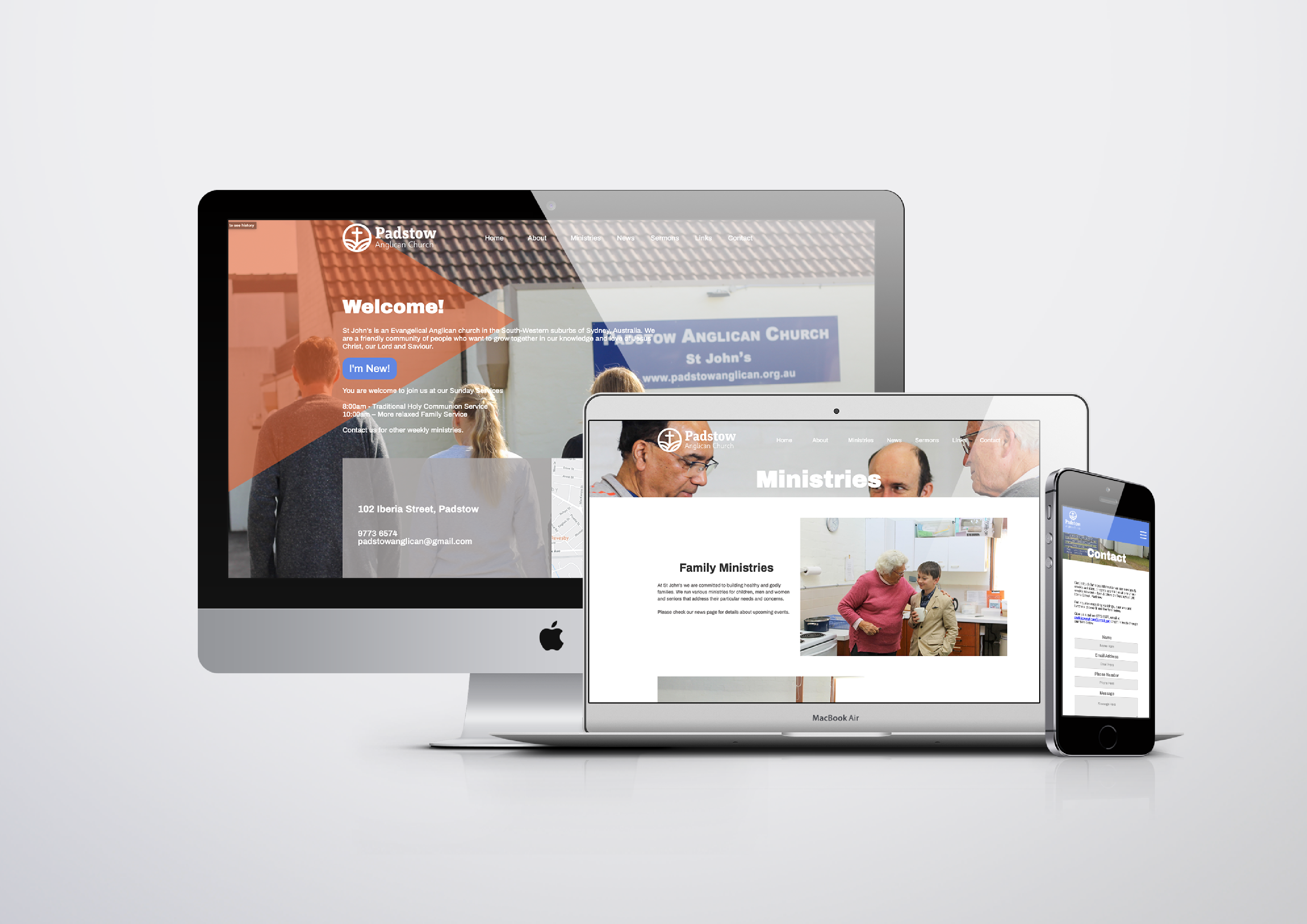 Website Design Padstow Anglican Church
