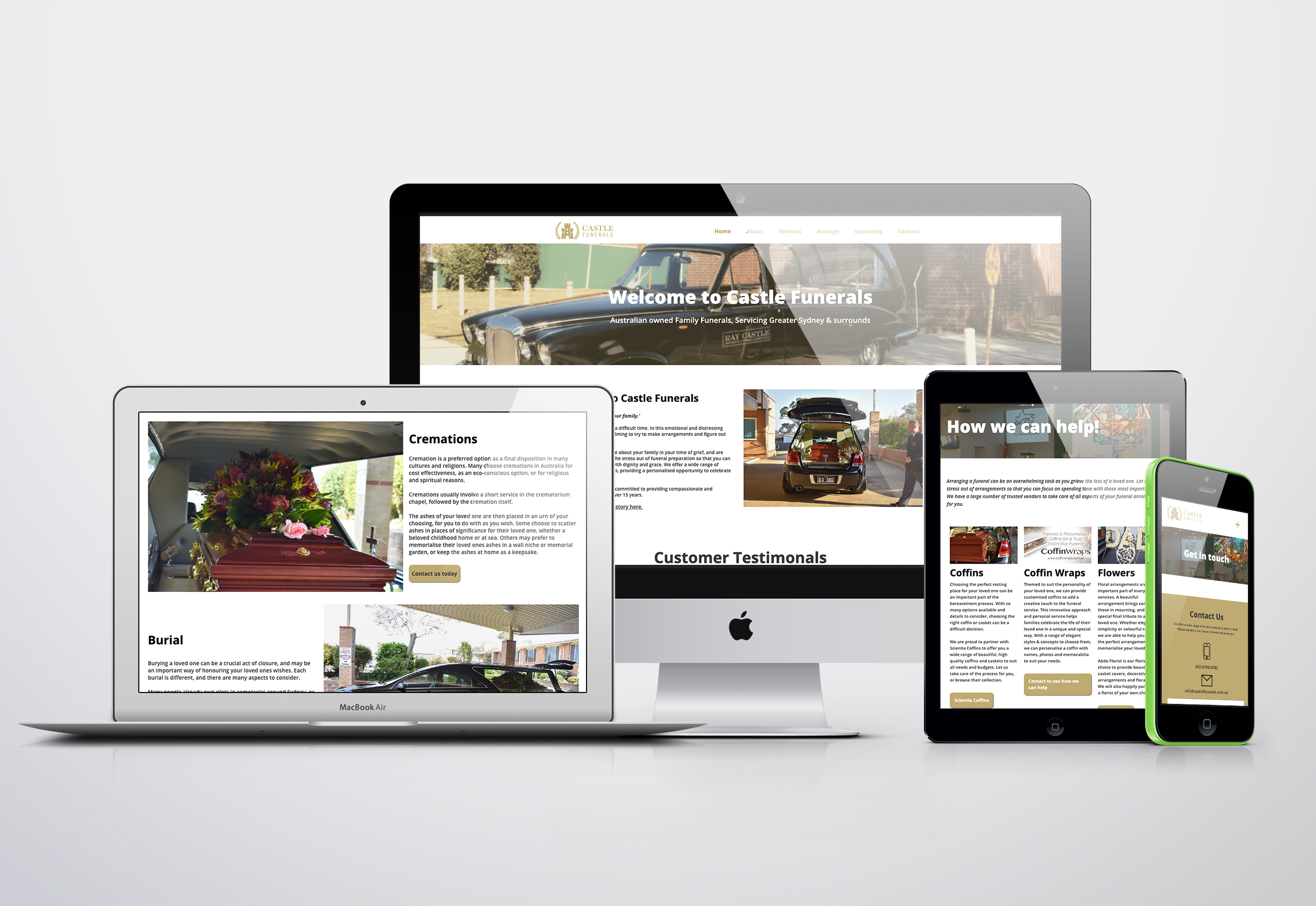 Website Design Funeral