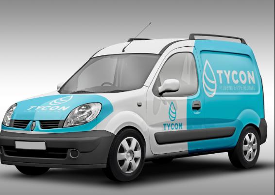 Tycon Plumbing Logo Design