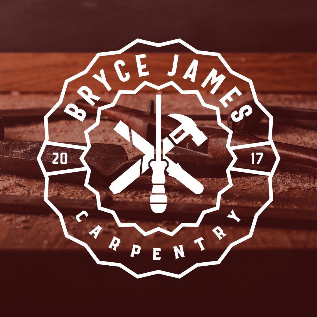 Bryce James Carpentry Logo