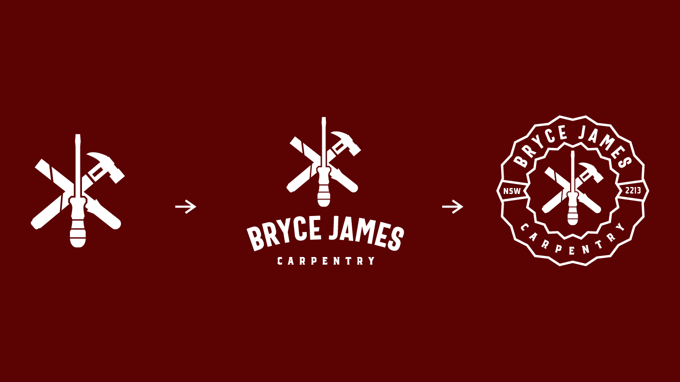 Bryce James Carpentry Responsive logo