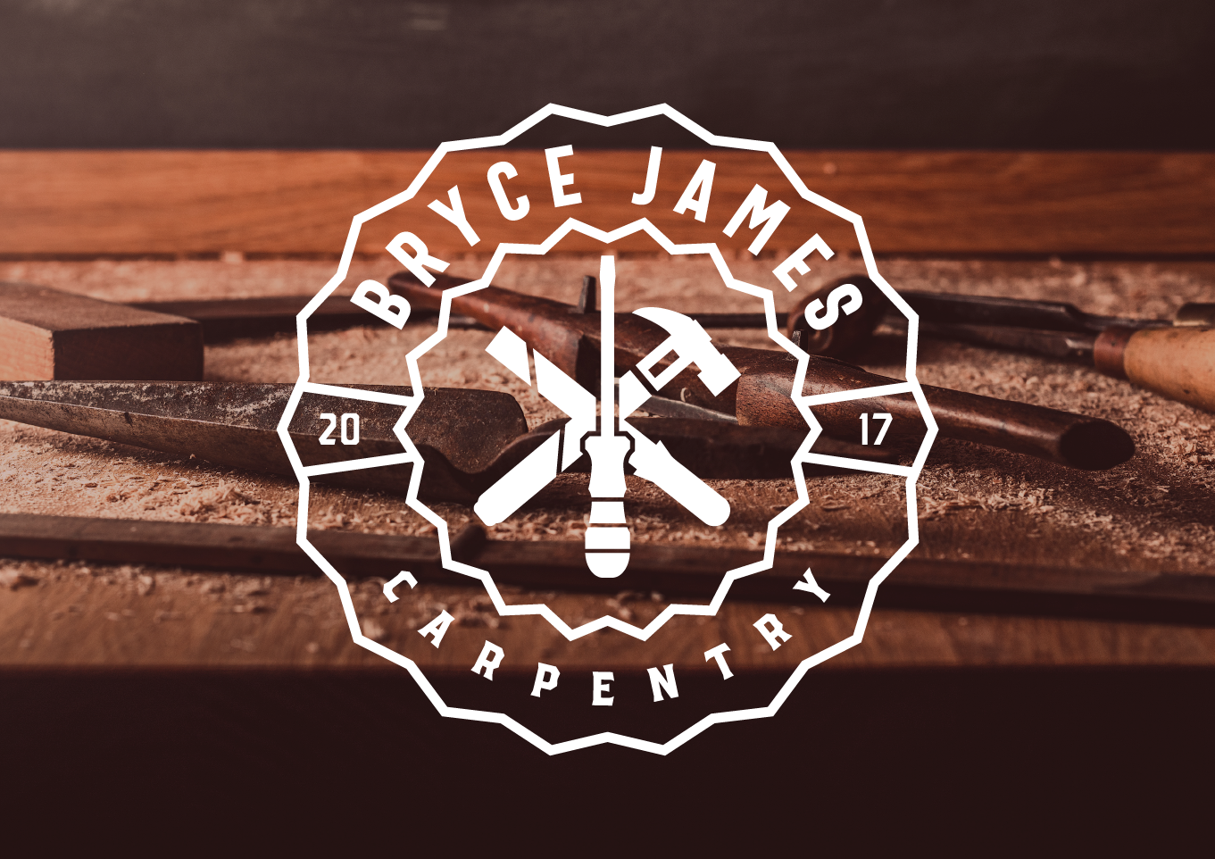 Bryce James Carpentry logo