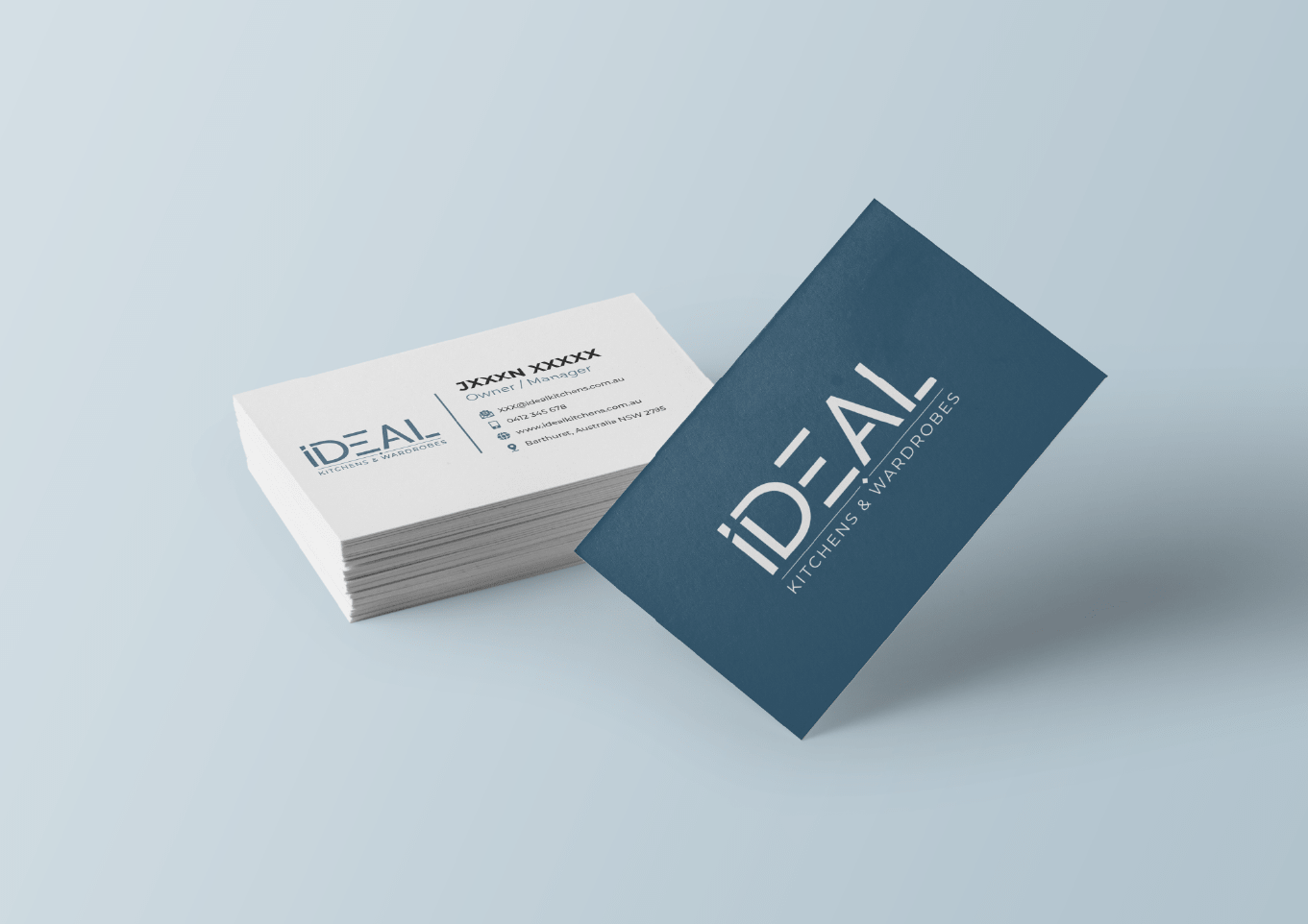 Ideal Kitchens Business Cards