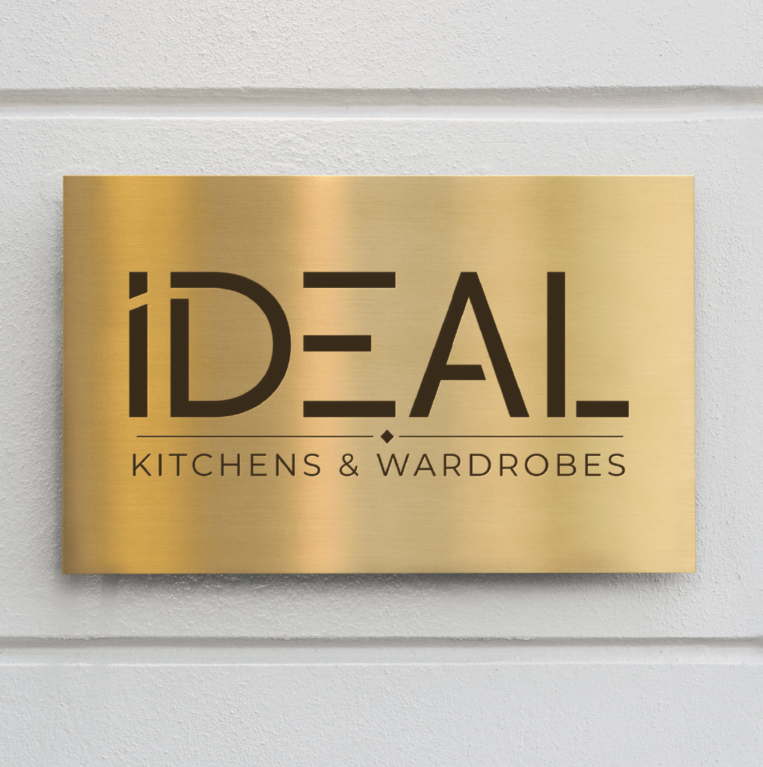 Logo Wall sign for Kitchens