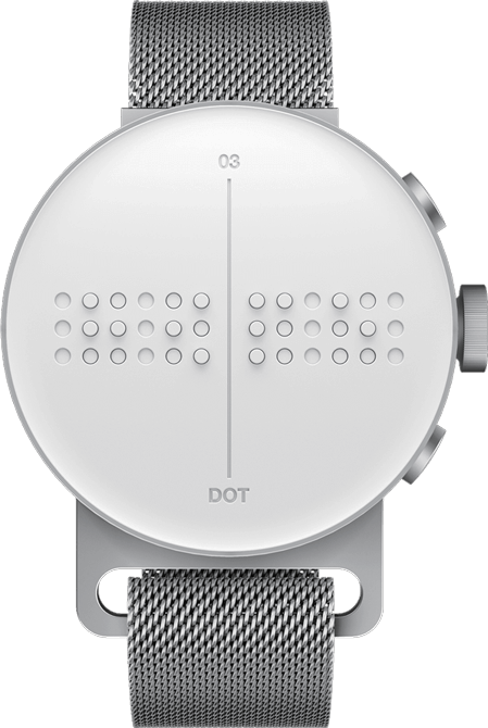 The front of the Dot Watch