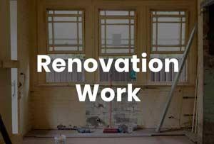 Nimbus Renovation Work