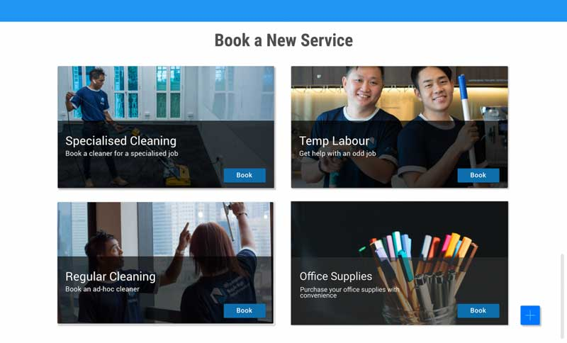 Book any Office Services with Nimbus