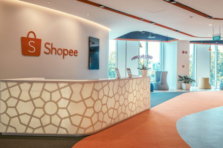 Shopee Reception Area