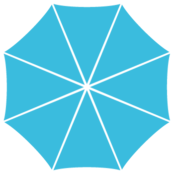 Abrella - Reklame-paraply - Skabelon Abrella
