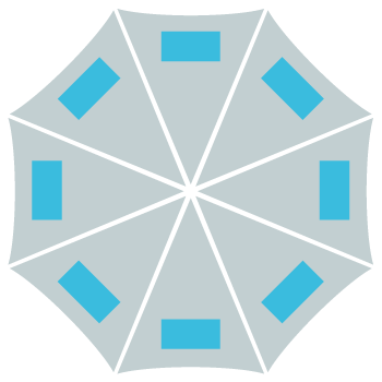 Abrella - Reklame-paraply - Skabelon andre