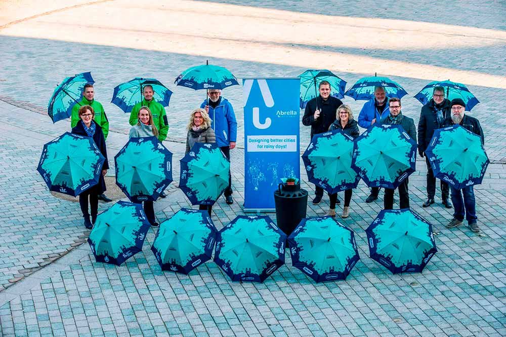 Abrella byparaplyer, paraplyer Viborg