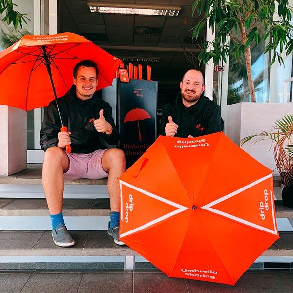 Dripdrop Instagram Andreas Søgaard & Mattias Edström - Abrella Byparaplyer