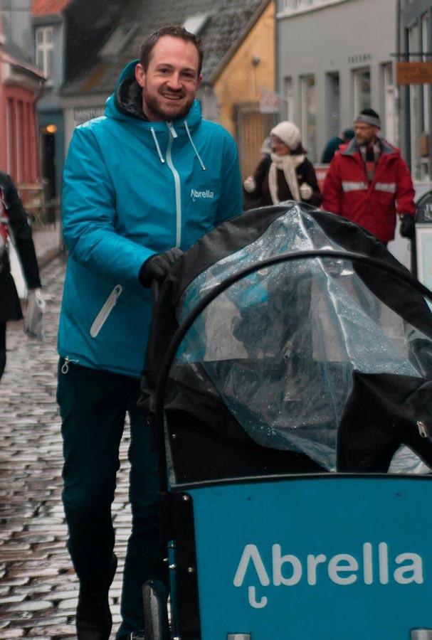 Abrella paraplyer med logo