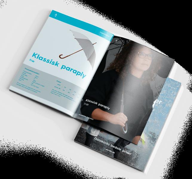 Abrella - Reklame-paraply - Katalog