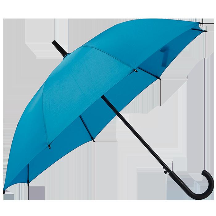 Klassisk paraply i metal og plastic