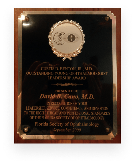 Outstanding Young Ophthalmologist Leadership Award