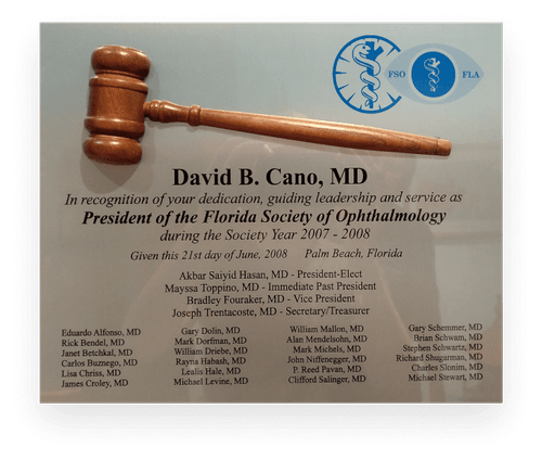 President of the Florida Society of Ophthalmology