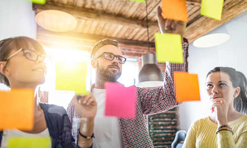 Design thinking in the marketing process: Explore the problem