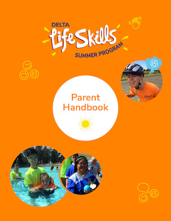 Image shows the cover of the Delta Life Skills Parent Handbook.