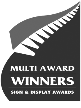Multi Award Winners Sign & Display Awards