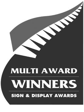 Multi Award Winners Sign & Display Awards