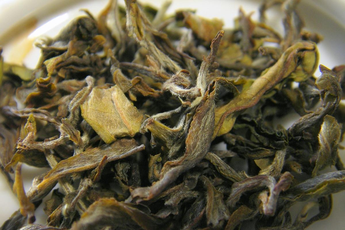 té blanco de darjeeling