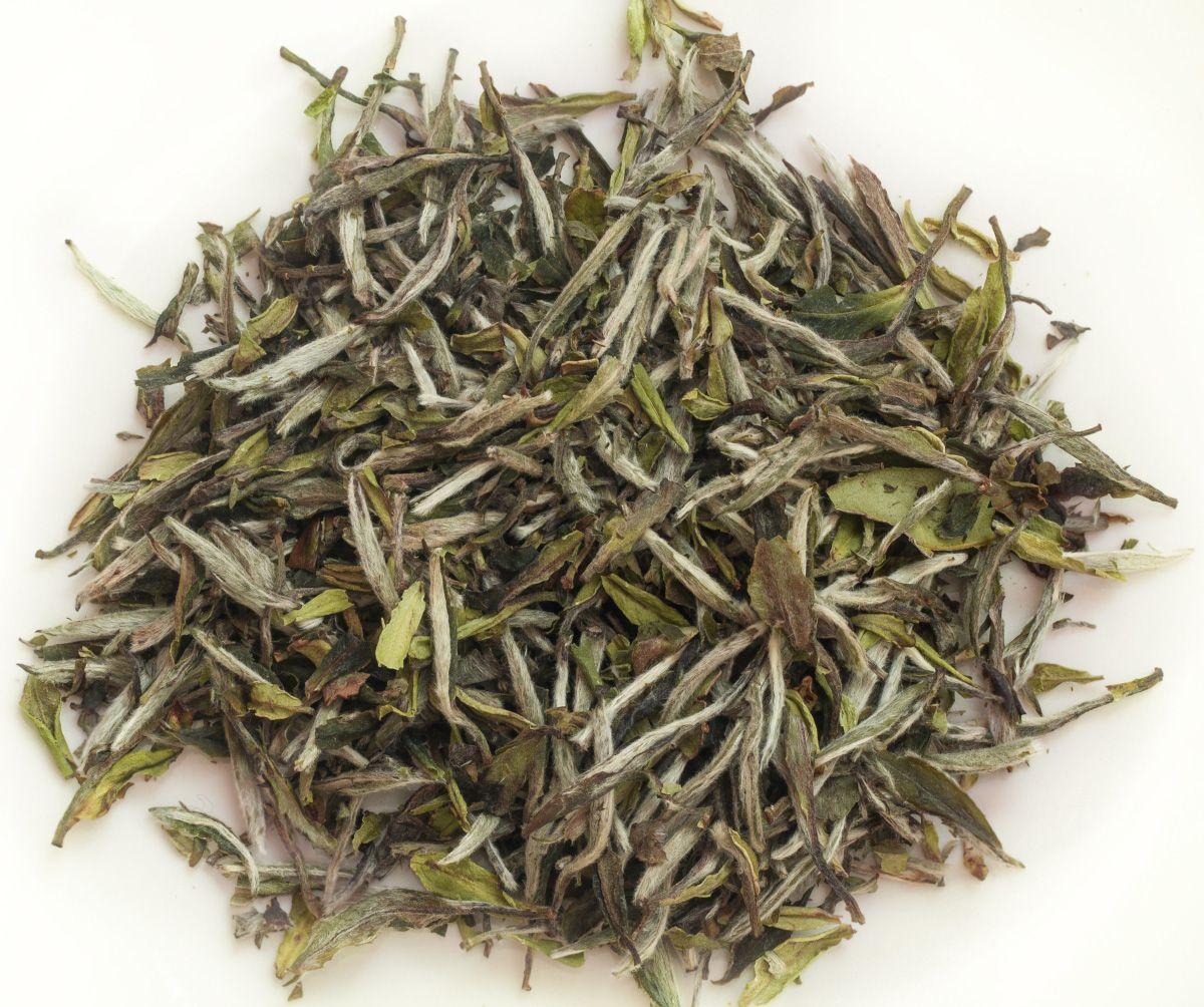 Bai Mudan té blanco