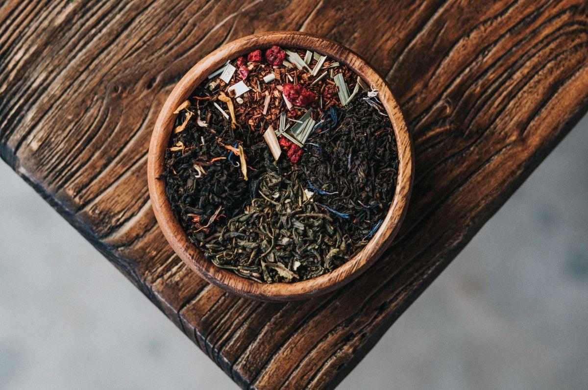 distintos tipos de té negro