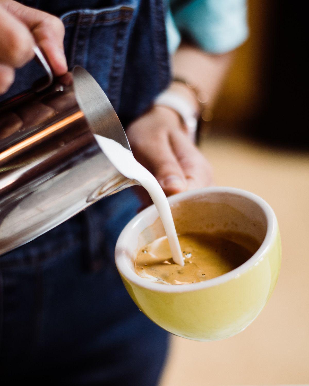 preparar rooibos latte