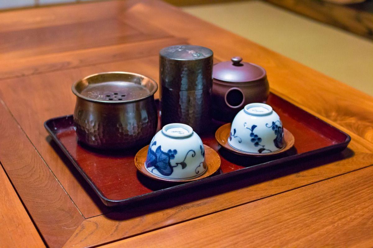 Sencha, el té de cada día en Japón