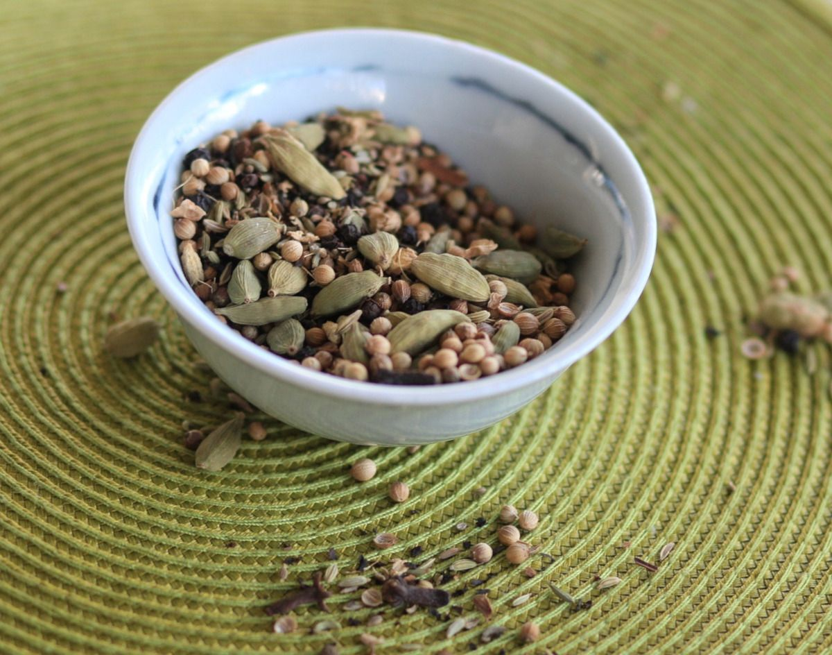 especias para hacer chai latte