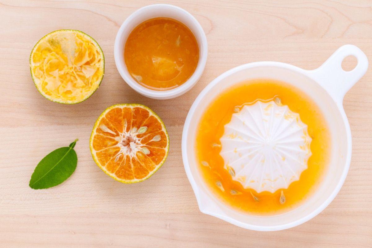 zumo de naranja para hacer terere