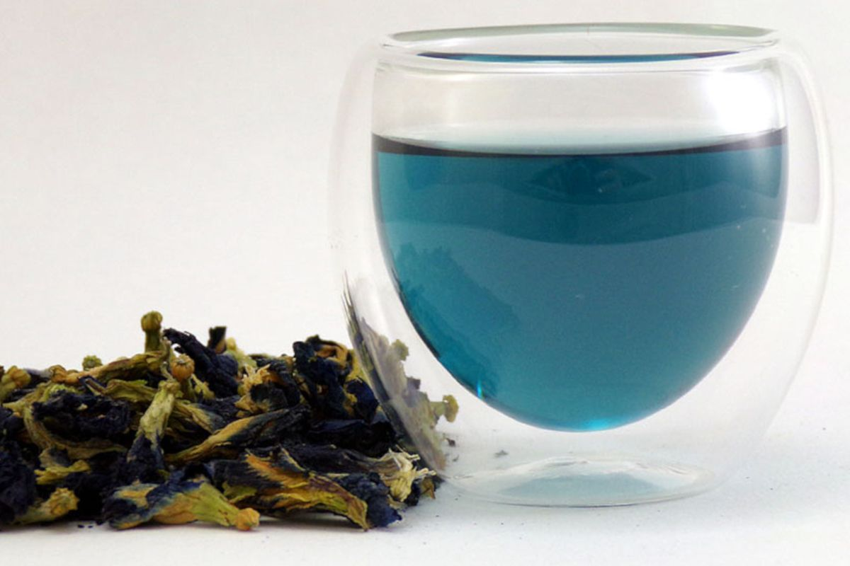 Butterfly pea flower, el té que cambia de color