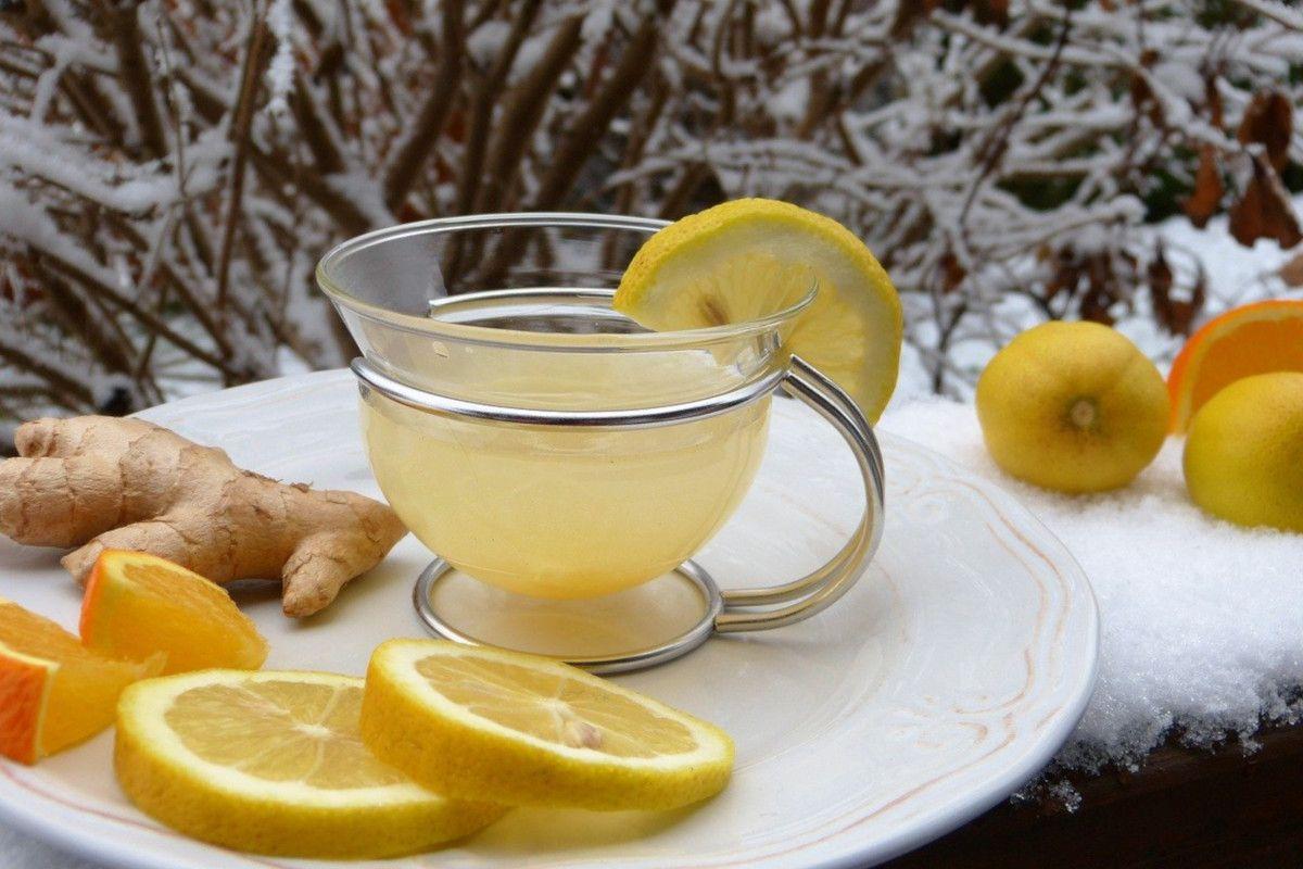 Infusión de jengibre y limón: potente antibacteriano