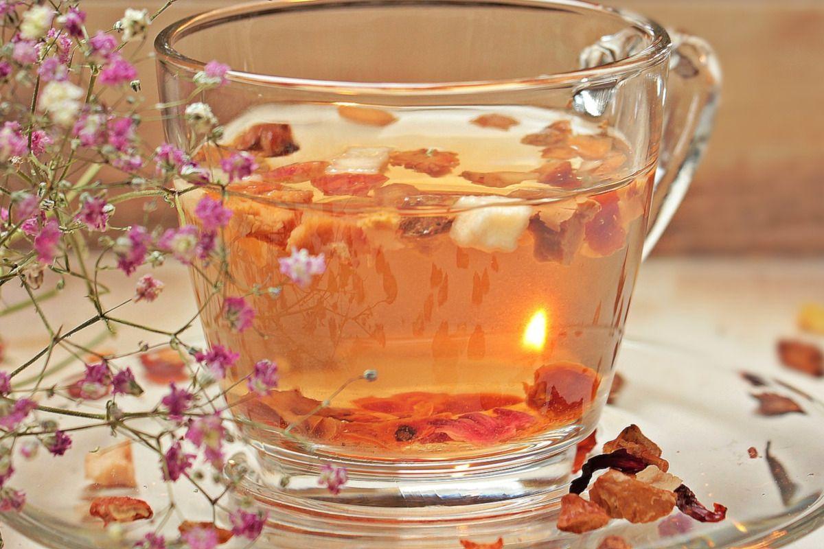 taza de té sin teína