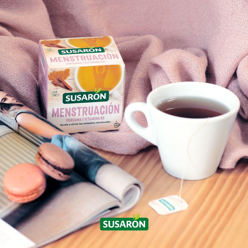 Infusion Susaron para los dolores menstruales