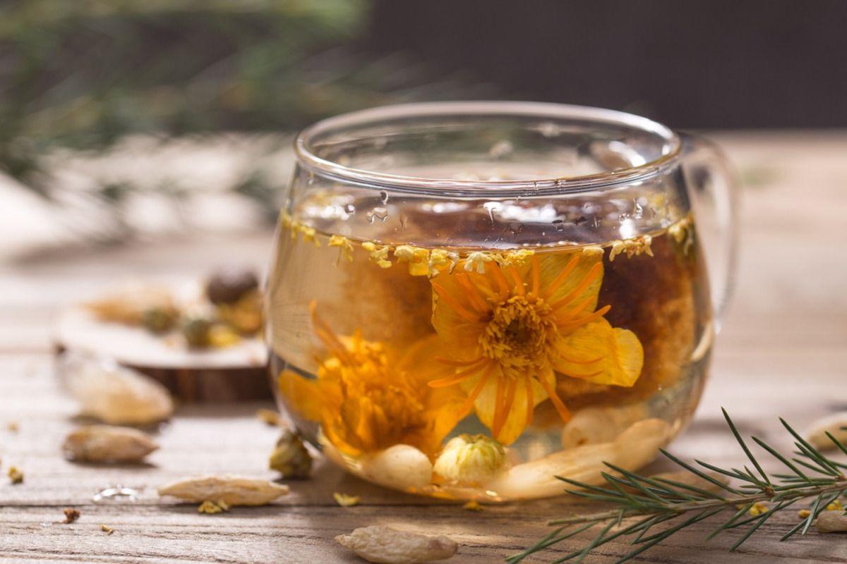 Los mejores tés aromatizados con flores