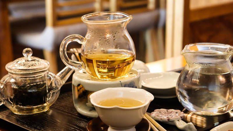 juego de té coreano