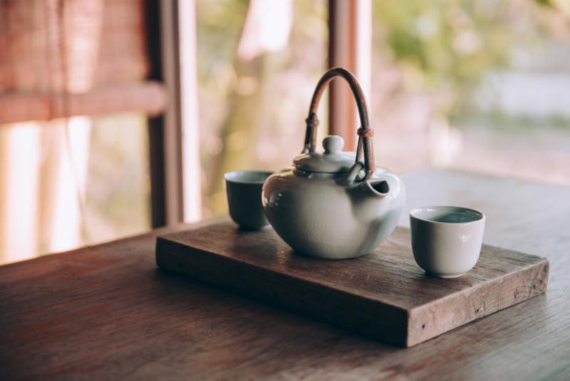 bandeja de té chino