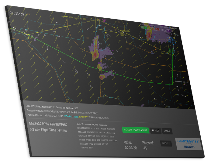 SMARTROUTES Flight Rerouting Software