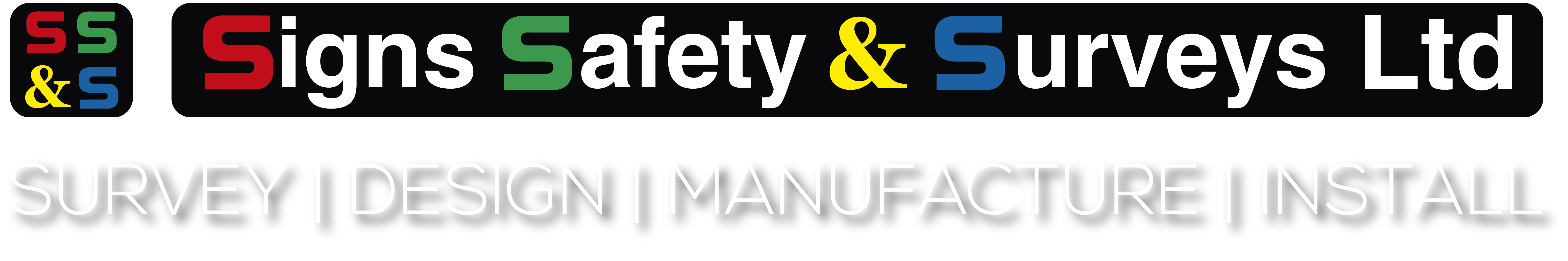 Signs, Safety & Surveys Logo