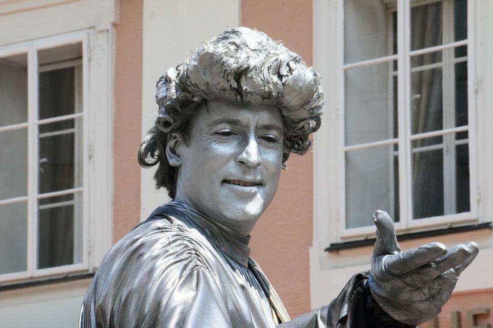 Statue of Mozeart